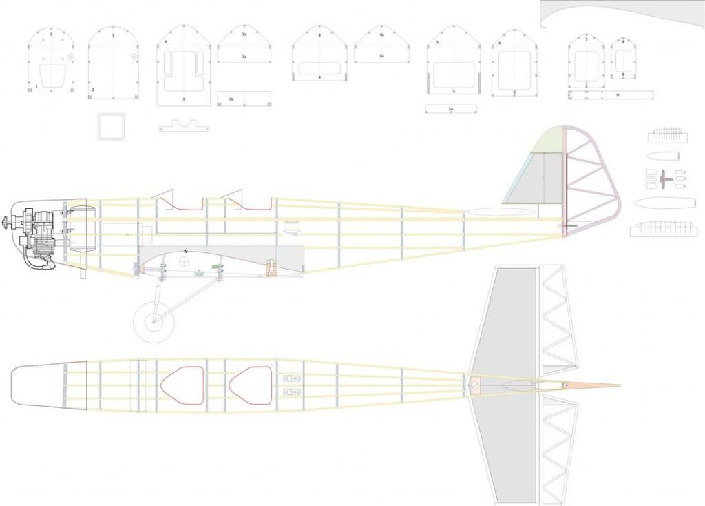 000a Rumpf - Bauplan (Medium)