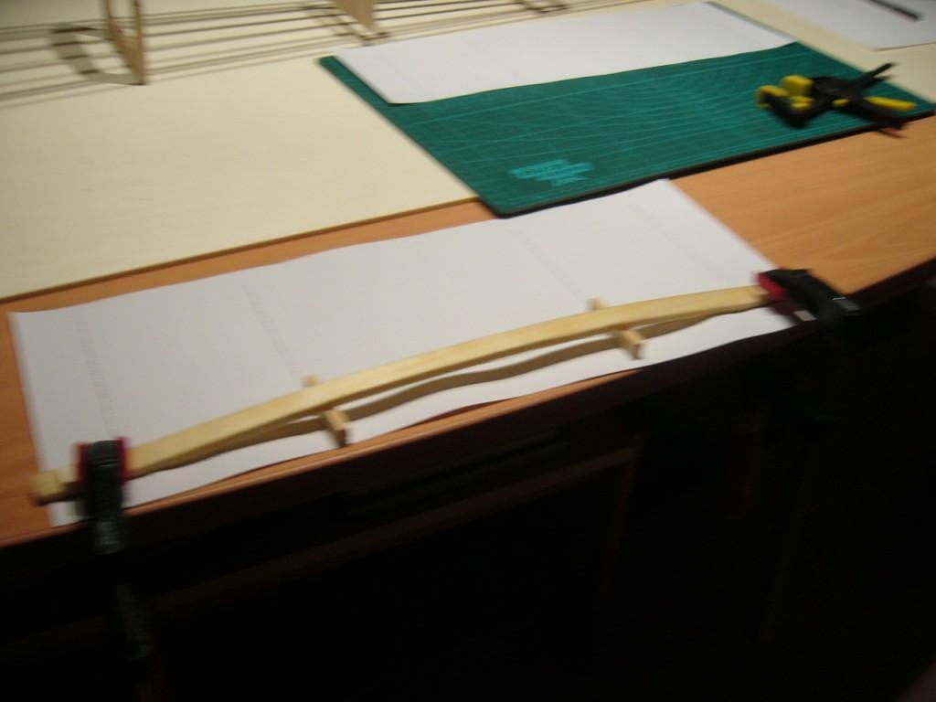 035 Tragfläche Mittelteil - formen Endleiste