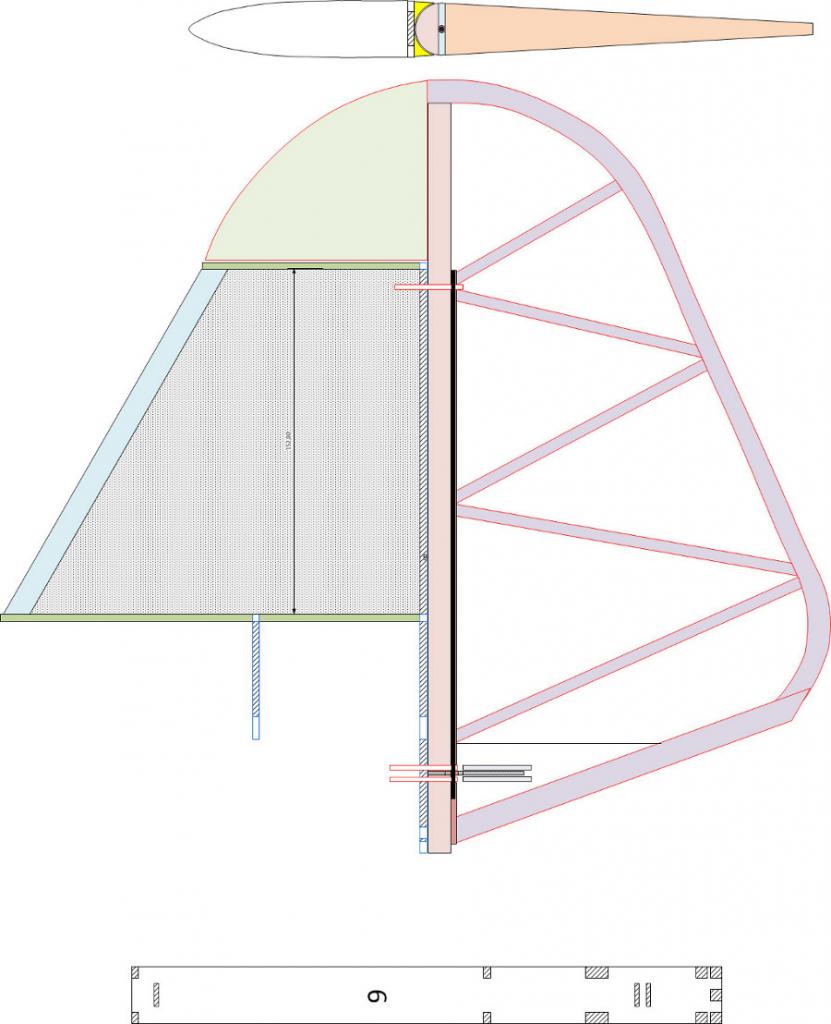 073 Seitenruder - Plan